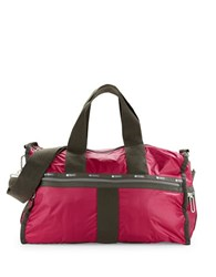 Le Sport Sac Weekender Duffel Bag Cherries Jubliee