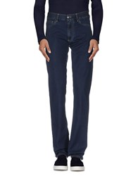 Canali Denim Denim Trousers Men Blue