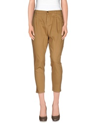 Met And Friends Casual Pants Camel