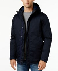 G.H. Bass And Co. Men's Woodsman Hooded Parka Navy