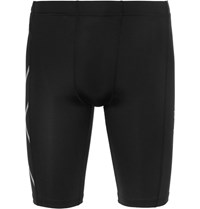 2Xu Tr2 Core Compression Shorts Black