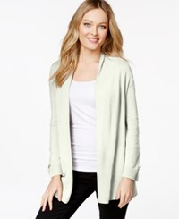 Charter Club Petite Open Front Cardigan Only At Macy's Cloud