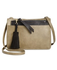 Inc International Concepts Concept Kayla 2 In 1 Crossbody Only At Macy's Olive Black