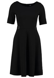 Wallis Jersey Dress Black