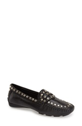 Robert Zur 'Tango' Studded Loafer Women Black