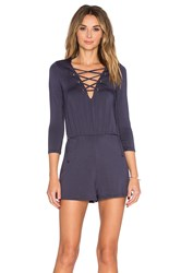 Rachel Pally Hollie Playsuit Blue
