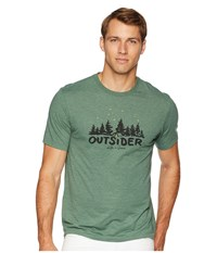 Life Is Good Outsider Cool T Shirt Forest Green T Shirt