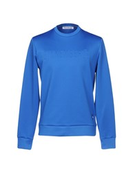 Bikkembergs Sweatshirts Bright Blue