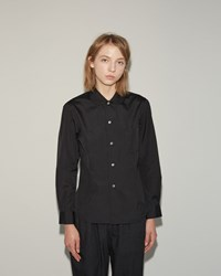 Comme Des Garcons Cotton Broad Shirt Black