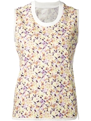 Giambattista Valli All Over Floral Print Tank Top
