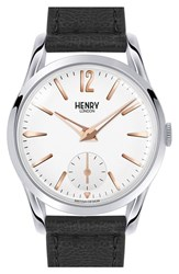 Women's Henry London 'Highgate' Leather Strap Watch 30Mm