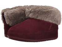 Fitflop Mukluk Shorty Hot Cherry Women's Slippers Red