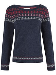 Seasalt Balleswidden Jumper Ombre Anchor Fathom