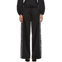 Alexander Wang T By Black Pull On Lounge Pants