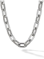 David Yurman Dy Madison Large 13.5Mm Necklace Ss