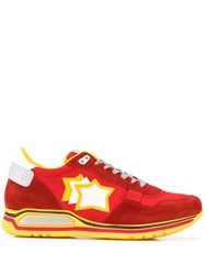 Atlantic Stars Pegasus Sneakers Red