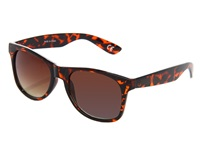 Vans Spicoli 4 Shades Tortoise Shell Sport Sunglasses Brown