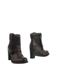Replay Ankle Boots Dark Brown