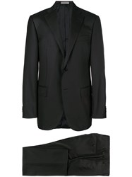 Corneliani Two Piece Formal Suit Black