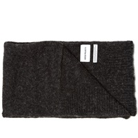Norse Projects Alpaca Scarf Charcoal Melange