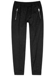Givenchy Black Shell Jogging Trousers