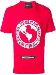 John Richmond There Is No Planet B T Shirt Red