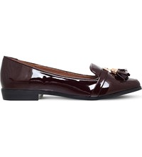 Miss Kg Nadia Patent Loafers Wine