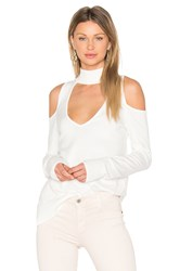 Central Park West Palm Springs Sweater White
