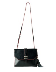 Dolce Vita Juliet Leather Clutch Black