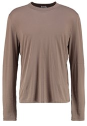 Filippa K Long Sleeved Top Greig Grey