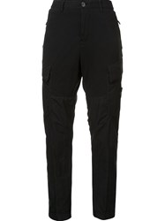 Stone Island Cargo Tapered Trousers Black