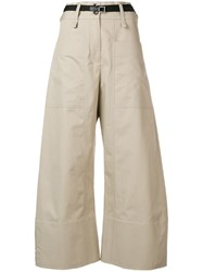 Eudon Choi Utility Trousers Beige
