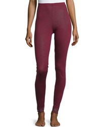 Hanro Chiara Lounge Leggings Red Plum
