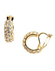 Lauren Ralph Lauren Clip On Hoop Earrings Gold