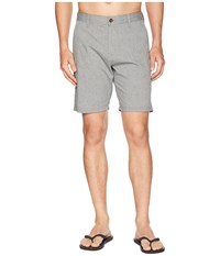 Vissla Palms Hybrid Two Way Stretch Walkshorts Grey Heather Gray
