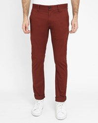 G Star Burgundy Bronson Slim Fit Chinos