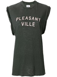 Zoe Karssen Pleasant Ville Tank Top Grey