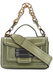 Pierre Hardy Alpha Plus Shoulder Bag Green