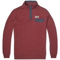 Patagonia Quilted Snap T Pullover Oxblood Red