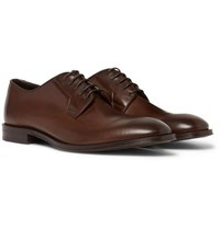 Paul Smith Chester Leather Derby Shoes Dark Brown