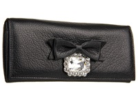 My Flat In London Large Gem Wallet Black Wallet Handbags