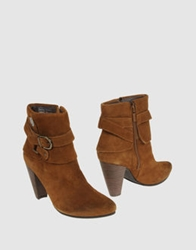 Replay Ankle Boots Camel