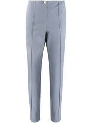 Cambio Slim Fit Trousers Blue