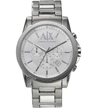 Armani Exchange Ax2058 Stainless Steel Watch Silver