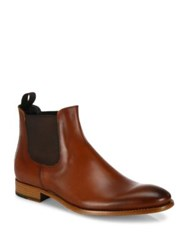 To Boot Claude Calfskin Leather Chelsea Boots Cognac