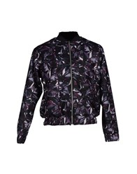 Basso And Brooke Coats And Jackets Jackets Men Dark Purple
