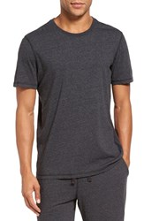 Daniel Buchler Men's Recycled Cotton Blend T Shirt Black