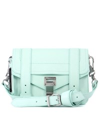 Proenza Schouler Ps1 Mini Crossbody Leather Shoulder Bag Blue