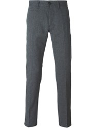 Marc Jacobs Textured Trousers Blue