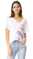 Wildfox Couture Purrfect Tee Clean White
